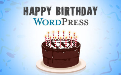 HAPPY BIRTHDAY WORDPRESS