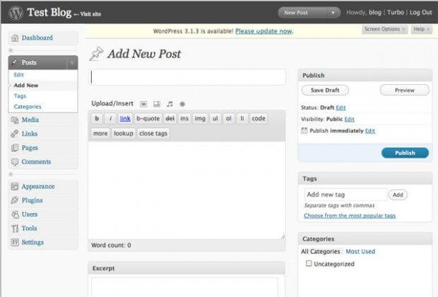 Το WordPress-2.7